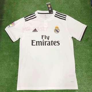Ready stock Real Madrid home kits