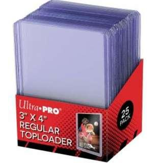 BNIB 50 Ultra Pro 3 x 4 Regular Toploader (2 Packs) K-Pop Idol Photos Card Sleeves