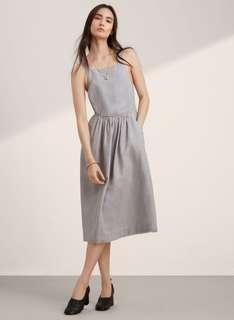 Aritzia Hymne Dress in Ashen Size 4