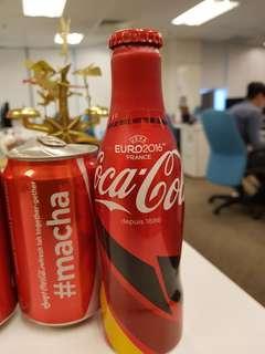 Coca Cola Bottle coke limited edition euro 2016 france