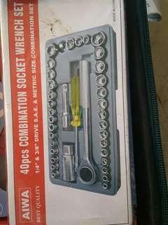Tools 40pcs socket complete