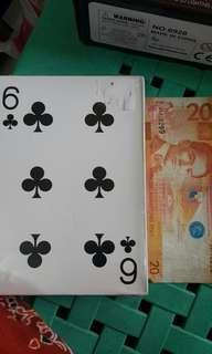 Playing cards jumbo size