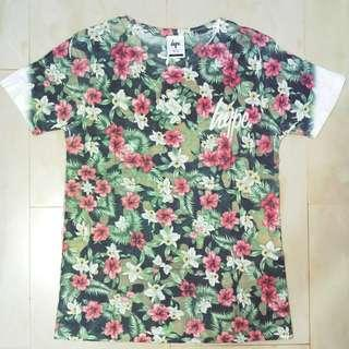 Just Hype Floral Print T Shirt Size Small (Fits Medium)