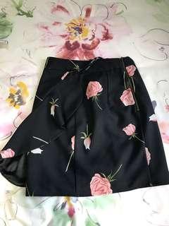 Sheike Black Rose Skirt