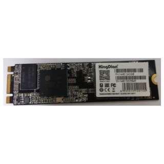 Kingdian M.2(NGFF) SATA 240gb SSD for form factor 2280 (Sealed Box) - last piece