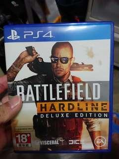 PS4 遊戲Battlefield Hardline Deluxe Edition