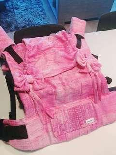BNWOT OOAK Custom Standard Wenweave Tula in Pink Silk Weft