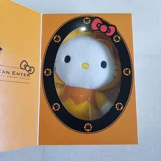 HELLO KITTY LIMITED EDITION MCDELIVERY SOFT TOY