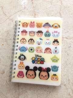 Tsum Tsum Notebook #1212