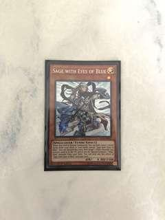 Yugioh Sage with Eyes of Blue SCR