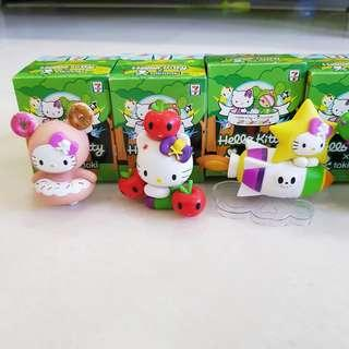 7-11 Limited Edition Hello Kitty Figurines