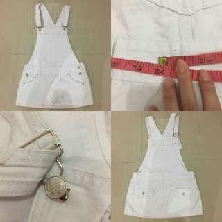 White Jumper Skirt