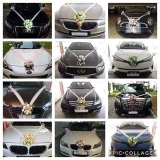 🚚 Wedding Car Decoration / Bridal Car Decor  / Wedding Car Flower