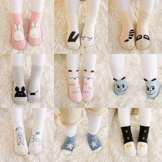 🚚 ✔️ 5pairs Set 🌟PM for price🌟 🍀Baby Breathable Comfort Non-slip Socks🍀