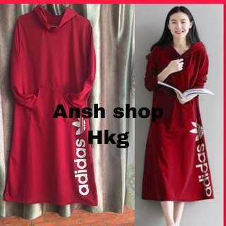 Adidas long dress ( hoodie)