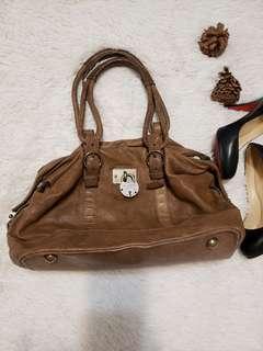 All Saints Leather Bowler Bag