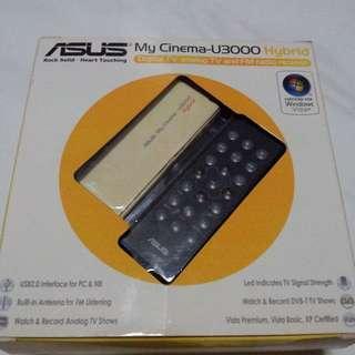 Asus My Cinema U3000 Hybrid Digital TV Analog TV FM Radio Receiver USB for PC Desktop CPU Computer