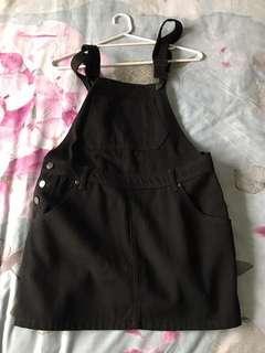 Boohoo Dungaree Dress
