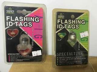 50%off 防止走失閃燈flashing id tags