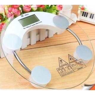 #MY1212 Weighing Scale penimbang berat high quality tempered glass digital weight scale 26cm/33cm body scale weight loss weight scale body weight
