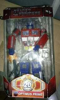20th Anniversary Optimus Prime
