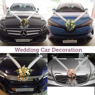 🚚 Wedding Car Deco / Bridal Car Deco