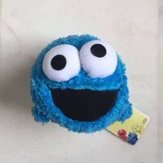 Cookie Monster, Tsum Tsum, Infant Mini Bolster, Sesame Streets, Blue Toy, Furry, Playskool, Christmas Gift Ideas, Birthday Present, Plushie