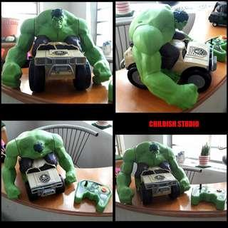 XPV Marvel Big Size Remote Controll HULK SMASH.