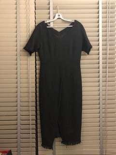 Sale! Black tweed dress