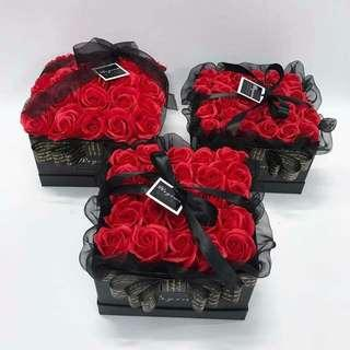 Lasting rose in box.  Best gift for your LOVE