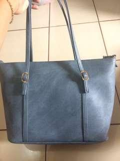Tas Tenteng / Tote Bag Blue Jeans