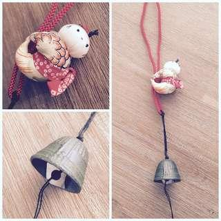Japanese Traditional Doll Wind Chime #1212