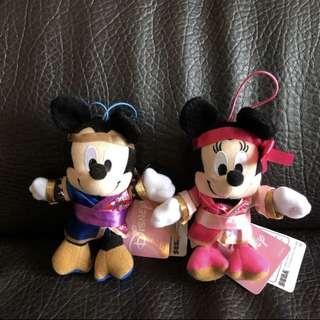 *New* 迪士尼 Mickey Minnie 米奇 米妮 美妮 聖誕 禮物 情侶 畢業 鎖匙扣 匙扣 公仔 精品 吊飾 掛飾 結婚 毛公仔 大公仔 7-11 Tsum Tsum 景品 Disney key chain soft toys 抽獎 小朋友