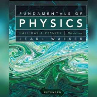 Ebook Fundamentals of Physics