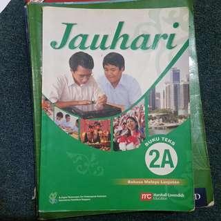 JAUHARI MALAY TEXTBOOK 2A
