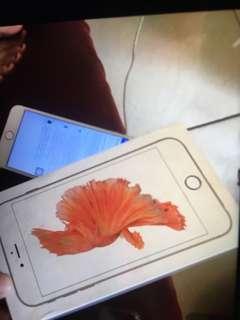 i phone 6s plus 16g rose gold