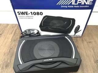 Alpine Active Sub Woofer Under Seat 30Day warranty!! Take alway!