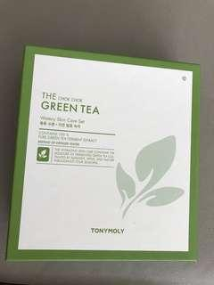 BNIB TONYMOLY Chok Chok Green Tea Watery Skin Care Set