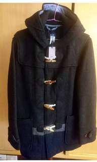 🚚 GAP 長版外套 防寒 英格蘭大衣 灰色 全新 S號 標籤還在 日本入購 日本限定版! 絕對正品