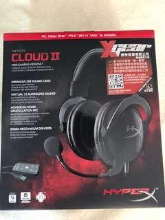 HyperX Cloud II 電競耳機
