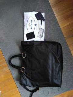 CNY OFFER!!!!Auth PRADA Leather Bag