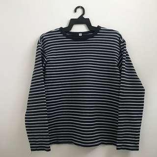 Uniqlo Stripes Shirt #MY1212