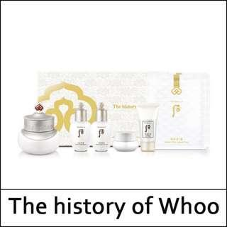 🚚 The History of Whoo - Gongjunhyang Seol Radiant White Ultimate Corrector Special Set