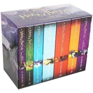 🔥 Harry Potter Books Number 1-7 Box Set Book Set 🔥