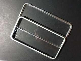 iphone 7 / 8 plus magnetic transparent casing