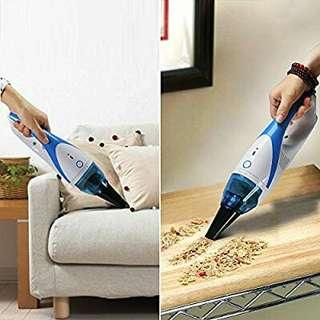 Hand held Vacuum, FD-CMV(B) Cordless Rechargeable Dust Busters stick vacuum, Mini Portable Car, Pet Hair Vacuum Cleaner, for Dust, Soot, Dirt, or Hair for Vacuum Cleaner for Home and Car Blue