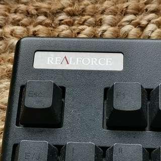 Topre Realforce Capacitive Mechanical Keyboard 98% new