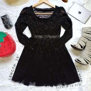 409 || Kids Lace Dress