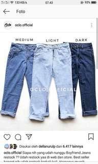 Boyfriend Jeans Wanita