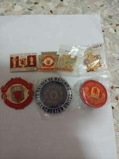 Manchester United  Badges
